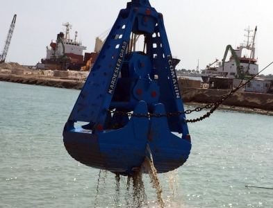 Mechanical Roundnose Dredging Grab